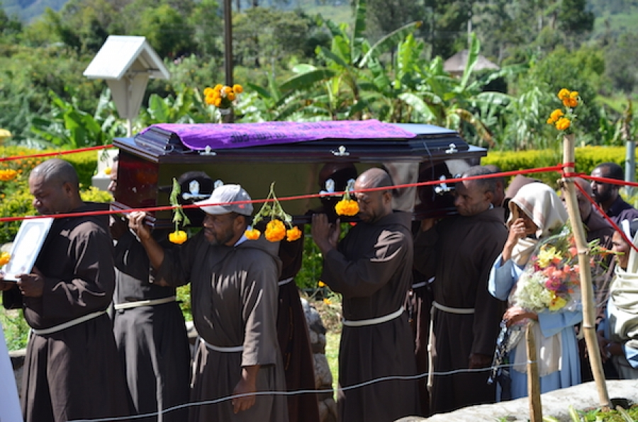 Sister Death calls Father Dominic - Catholic Diocese of Mendi
